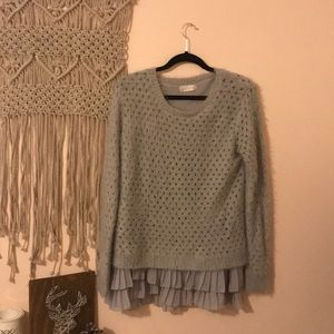 Long Flowy Sweater